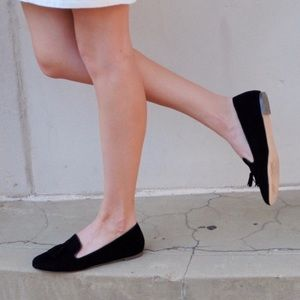 J. Crew Factory Cora black tassel loafers f5735
